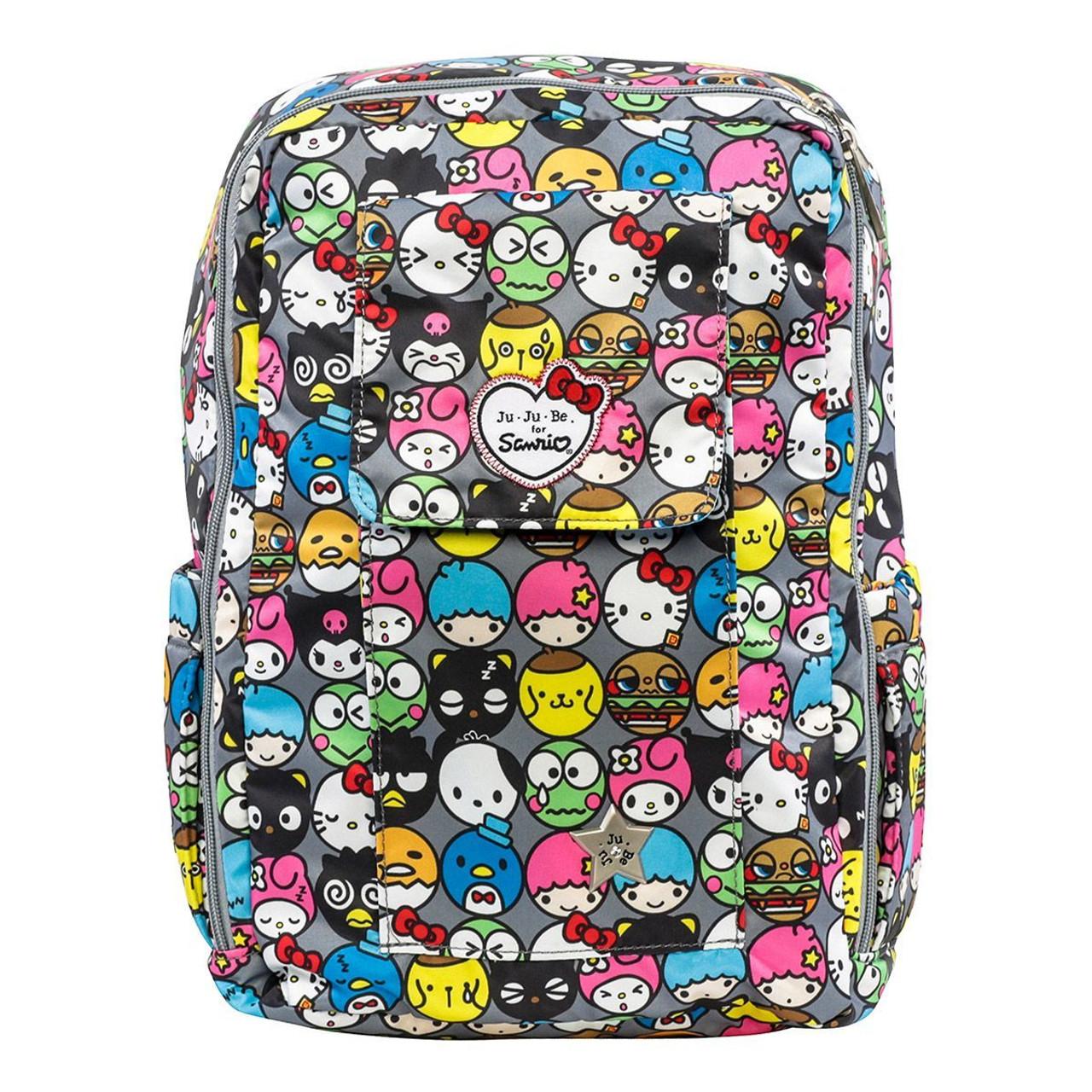 Ju-Ju-Be Sanrio Hello Kitty Mini Be Hello Friends Mini Book Bag  14BP02HK-HFR - Fearless Apparel 2c89fe0612daf
