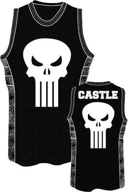 757b867d AUTHENTIC MARVEL COMICS THE PUNISHER FRANK CASTLE JERSEY TANK TOP SHIRT  S-2XL ...