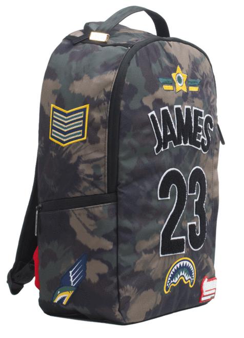 84e4e07239 ... Sprayground NBA Lab Lebron James Tie Dye Patches Book Bag Backpack  910B1863NSZ ...