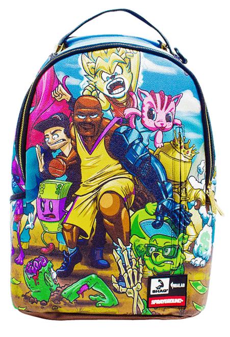 Sprayground NBA Lab Shaqtin  A Fool Anime Basketball Book Bag Backpack  910B1296 a3597981d68e1