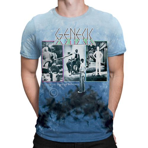 GENESIS LAMB LIES DOWN ON BROADWAY NY  MUSIC CLASSIC ROCK BAND T SHIRT S-XL
