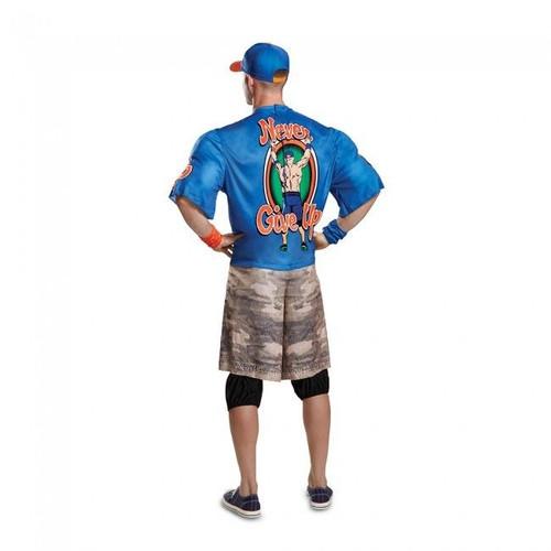Disguise WWE John Cena Blue R.E.I Muscle Adult Mens Halloween Costume 67924