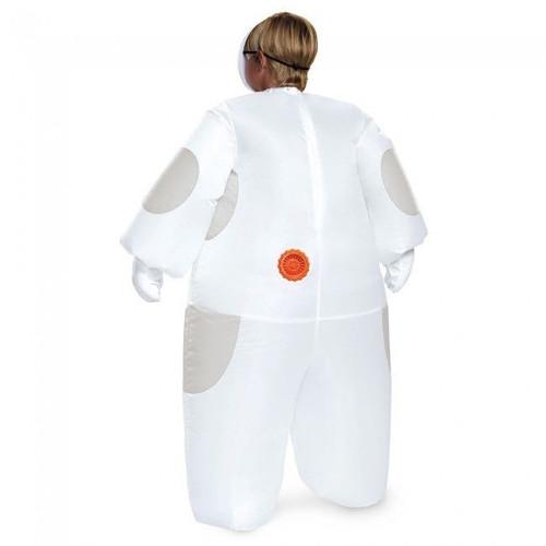 LICENSED WHITE BAYMAX BIG HERO 6 INFLATABLE CHILD FANCY DRESS HALLOWEEN COSTUME