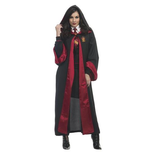 Womens Harry Potter Hermione Granger Fancy Dress Costume Size 6-8