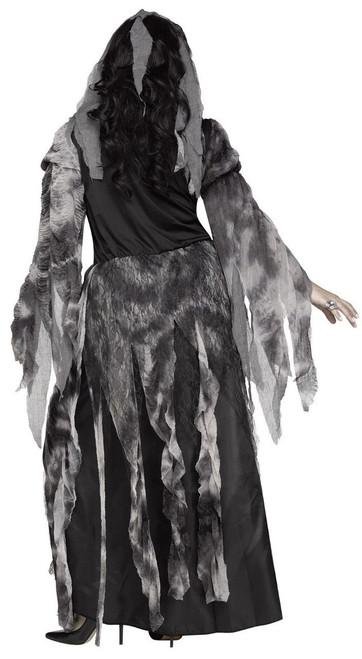 Fun World Cemetery Bride Wedding Dress Adult Womens Halloween Costume 124454