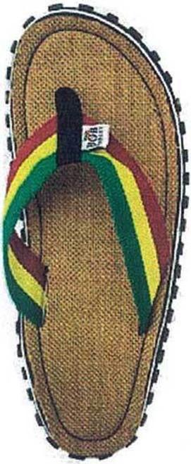 215fdd27aa2a Zion Rootswear Bob Marley Fresco Sand Reggae Mens Flip Flop Sandals ZRBM25SK