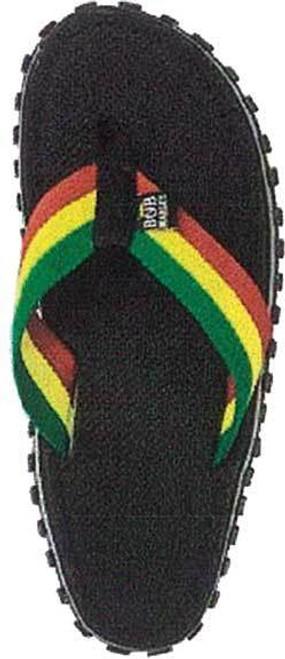 eed67c3e7627 Zion Rootswear Bob Marley Fresco Reggae Music Mens Flip Flop Sandals  ZRBM26SK