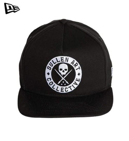 0704af23510 Sullen Clothing New Era Staple Badge Logo Tattoos Art Snapback Cap Hat  SCA1809
