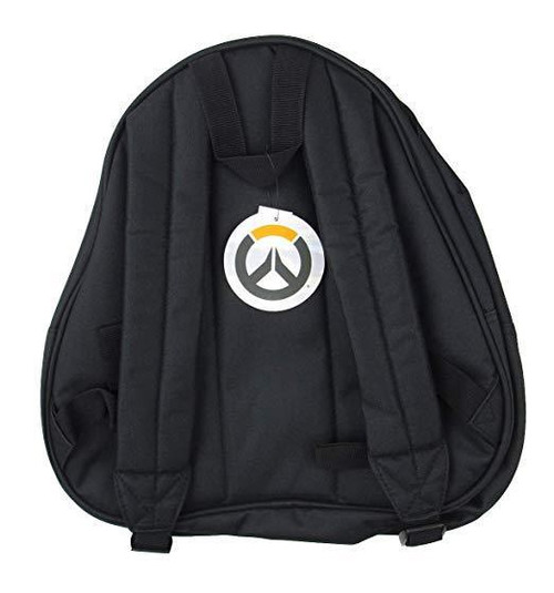e32341f19cf ... Loungefly Overwatch Reaper Death Hero 3D Video Games Gothic Backpack  OWBK0004