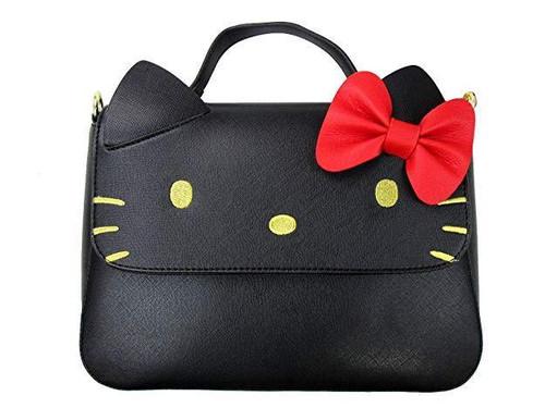 Loungefly Sanrio Hello Kitty Bow Cute Faux Leather Crossbody Purse Bag  SANTB1597 83684a740d