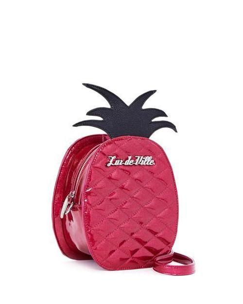 Lux De Ville Black Widow Matte Pink Bubbly Sparkle Tote