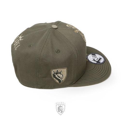 f5f070e1883da ... OG Abel Ogabel Crowned Lion King Urban Tattoo Forest Snapback Cap Hat  HTSB005-F ...
