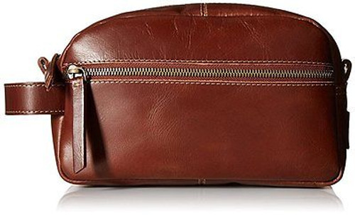 Timberland Rugged Wash Genuine Leather Adult Men's Toiletry