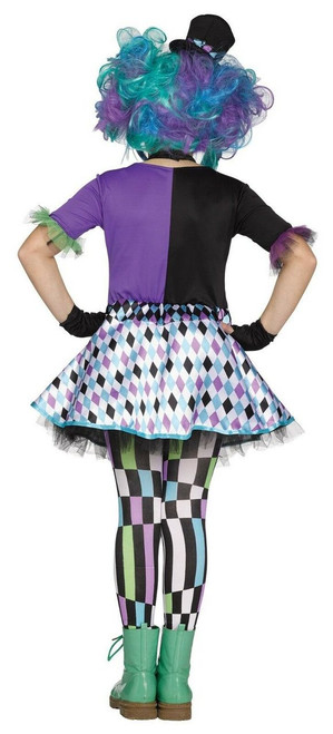 Fun World Alice In Wonderland Mad Hatter Kids Childrens Halloween Costume 115492 Fearless Apparel