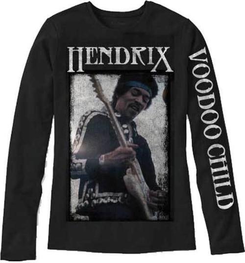 65e443588 Jimi Hendrix Voodoo Child Psychedelic Rock Music Long Sleeve T Shirt  19752005