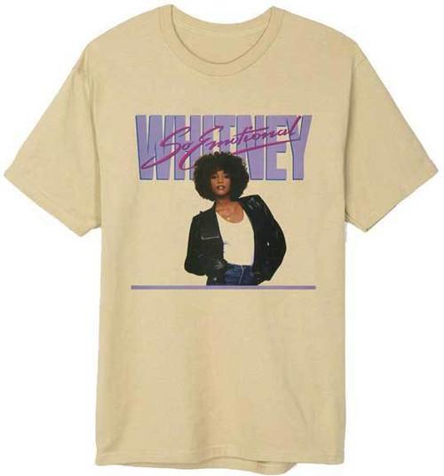 11c6f33e Whitney Houston So Emotional Pop Soul Dance R&B Gospel Music T Shirt  32011030