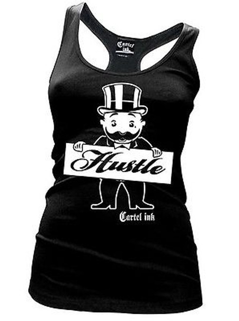 CARTEL INK GOOD GIRL WITH BAD HABITS PUNK RACER BACK WOMENS TANK T SHIRT S-XXL