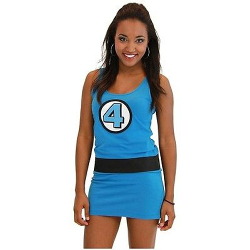 MARVEL HEROES Captain America Cosplay Tank Dress Women/'s juinors Tailles Neuf Avec étiquettes!