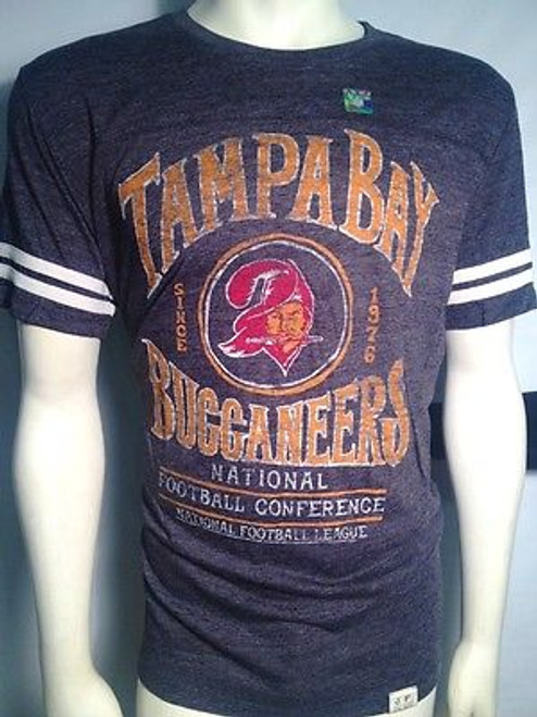Authentic Junk Food Tampa Bay Buccaneers Tailgate Football Men T Shirt S-2Xl