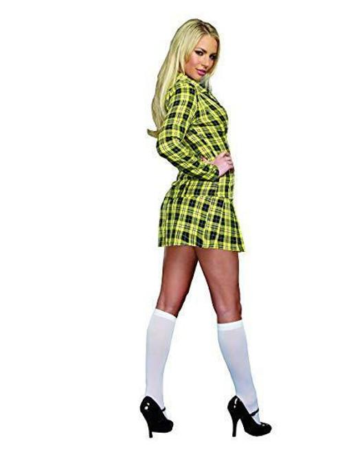 f029febfc ... Dreamgirl Fancy School Girl Plaid Uniform Adult Womens Halloween Costume  9848 ...
