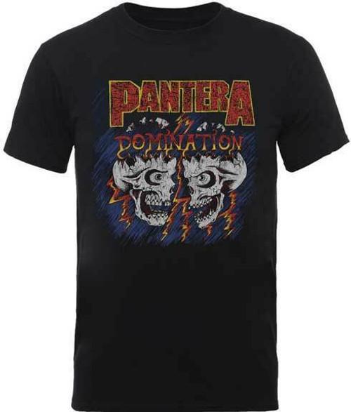 5a4bf7a17 Pantera Domination Groove Thrash Heavy Glam Metal Music Band T Shirt  31511341