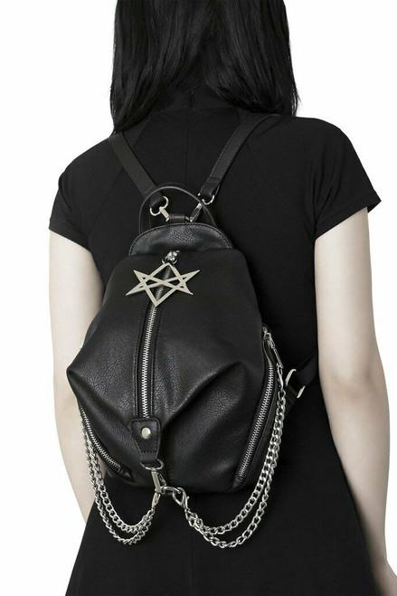 Killstar Gothic Goth Okkult Rock Minirock Trax Schnallen Mesh