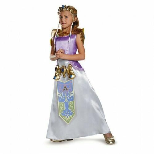 Disguise The Legend of Zelda Princess Deluxe Childrens Halloween Costume 98784
