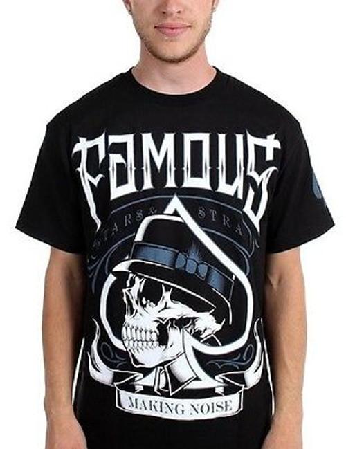 FAMOUS STARS /& STRAPS RS Blaze Rocksmith Black T-Shirt S-XXXL NEW