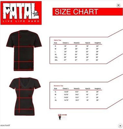 FATAL CLOTHING EXPECTATION SINCE 2004 TATTOO GOTH PUNK SKATE MENS T SHIRT M-3XL