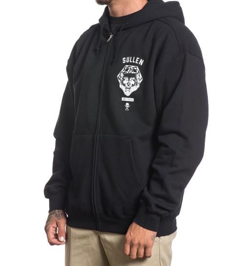 Sullen Clothing Pack Mentality Tattoo Artist Adult Mens Zip Up Hoodie SCM0004