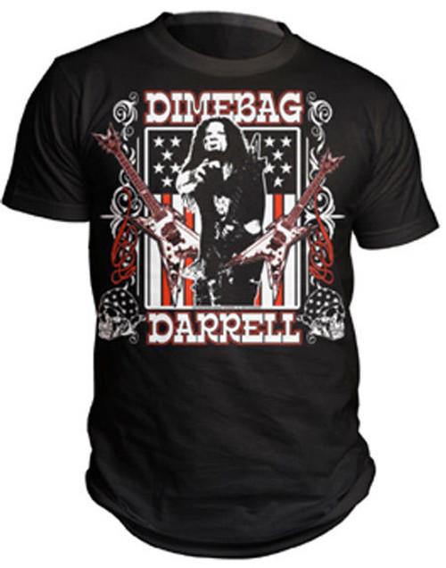 DIMEBAG DARRELL WHISKEY DIAMOND GUITARIST PANTERA DAMAGEPLAN TEE T SHIRT S-2XL