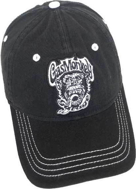 8694ac702d881 Gas Monkey Garage Logo Grease Glory American Muscle Cars Adjustable OSFA Cap  Hat