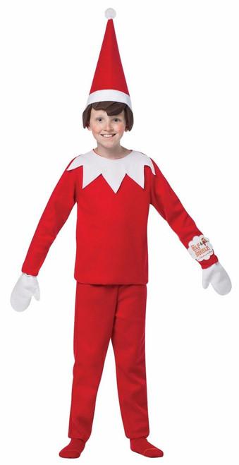16955291c22dd Rasta Imposta Elf On The Shelf Santa Xmas Holiday Christmas Child Boys  Costume