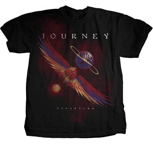 0a65a41a Journey Departure Music Band Rock Album Cover Adult Mens T Tee Shirt  JOU-1005