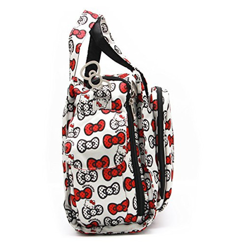 f0daf09e0 ... Ju-Ju-Be Sanrio Be Prepared Peek A Bow Hello Kitty Purse Diaper Bag ...