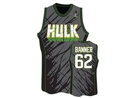 f0d1c619 AUTHENTIC MARVEL COMICS INCREDIBLE HULK SMASH JERSEY TANK TOP SHIRT S-2XL