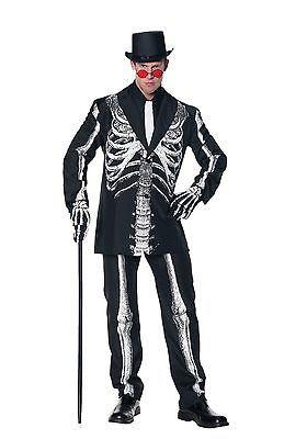 Skeleton Outfit Halloween.Under Wraps Bone Daddy Cosplay Creepy Skeleton Suit Cosplay Halloween Costume
