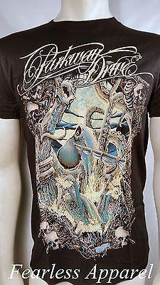 6d9304cbd3fa4 Parkway Drive Band Kraken Octopus Anchor Skull Rock Metalcore T Tee Shirt  S-2Xl