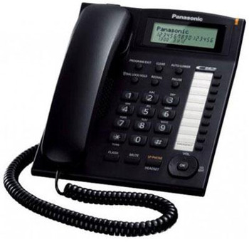 Single Line Phone w Dialer Sta