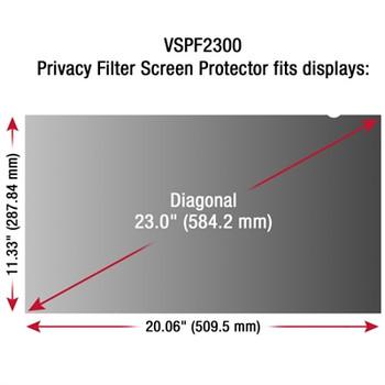 "23"" Privacy FilterScreen Black"