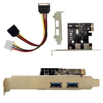 2 Port USB 3.0 PCIe SFF Intern