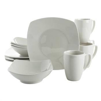 Zen Buffetware DW 12pc White