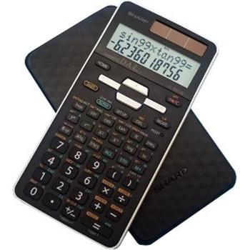 Scientific Calc, 2 Line, Black