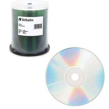 CD R 80 100Pk 52X, Shiny Silvr