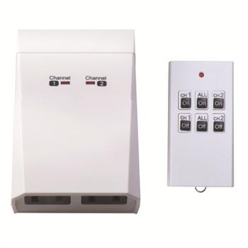 Timer Indoor 2 Outlet Remote