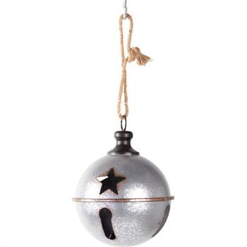 "GT 8.5""Hanging Silver Metal Be"