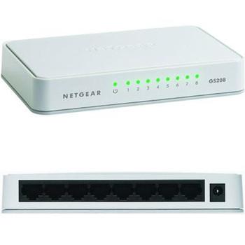 8 Port Gigabit Switch - GS208100PAS