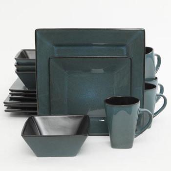GE Kiesling Dinnerware Blue 16