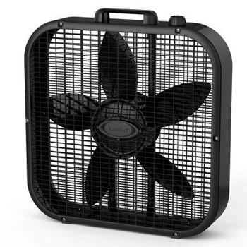 20in Box Fan 3spd Black