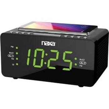 "Dual Alarm Clock w 1.2"" Screen"